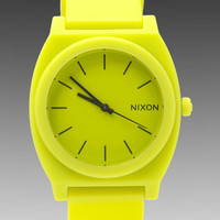 Nixon The Time Teller P in Neon Yellow from REVOLVEclothing.com