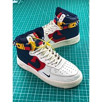 Nike Air Force 1 High Upstep Nautical Redux Sport Shoes