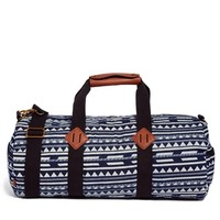 ASOS Holdall with Triangle Stripe Print