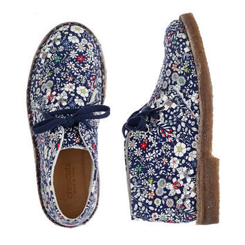 Girls' Liberty MacAlister boots in June's Meadow floral - boots - Girl's shoes - J.Crew