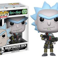 Funko Pop Animation: Rick & Morty - Weaponized Rick