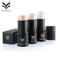 Huamianli Brand Face Makeup Highlighter Stick Shimmer Highlighting Powder Creamy Cheek Rouge Blusher Highlight Shimmer
