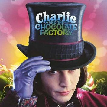 Charlie and the Chocolate Factory Movie Poster 24x34