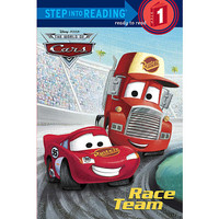 Step Into Reading Series Step #1: Ready to Read Books - Cars Race Team