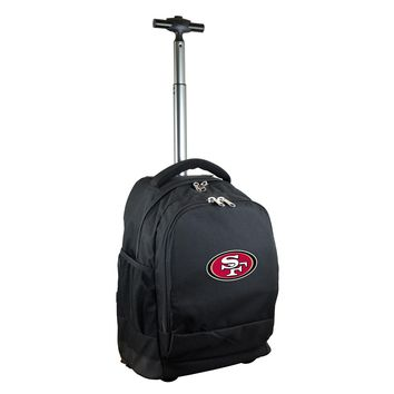 San Francisco 49ers Wheeled Premium Backpack