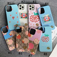 GG Fashion iPhone Phone Cover Case For iPhone Phone Cover Case For iphone 7 7plus 8 8plus X XR XS MAX 11 Pro Max 12 Mini 12 Pro Max
