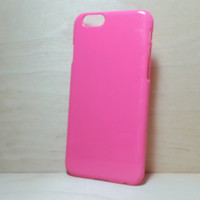 Hard Plastic Case for iphone 6 (4.7 inches) - Rose Pink