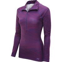 UNDER ARMOUR Women's ColdGear Cozy Printed 1/4-Zip Pullover
