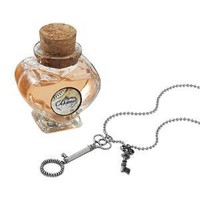 BUBBLE WAND NECKLACE & ROSE SOLUTION SET | Valentine's Day Gift, For Her, Romantic Jewelry | UncommonGoods