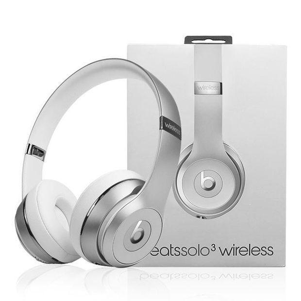 Image of Beats Solo 3 Wireless Magic Sound Bluetooth Wireless Hands Headset MP3 Music Headphone with Microphone Line-in Socket TF Card Slot