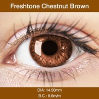 Chestnut Brown Colored Contacts
