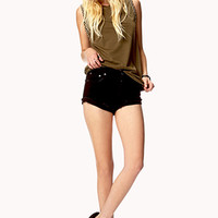 Studded Trim Muscle Tee