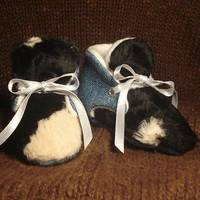 Moo Cow Booties