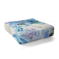 Lisa Argyropoulos Whispered Blue Floor Pillow Square