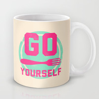 Go fork yourself Mug by LookHUMAN