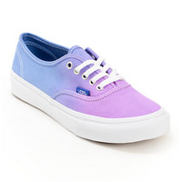Vans Authentic Purple Ombre Shoe