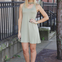 Key to Happiness Dress - Pistachio