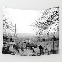 Paris Wall Tapestry by Studio Laura Campanella