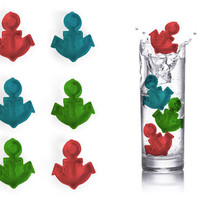 Reusable Anchor Ice Cubes