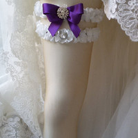 Wedding leg garter, Bridal garter set,  Garter, Rustic wedding garter, İvory ribbon garter, Bridal accessuary, Pearl and ribbon garter,