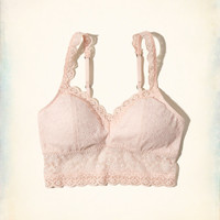 Lined Lace Bralette