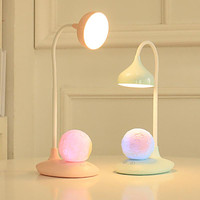 Usb Rechargeable Lithium Battery Student Desk Eye Protection Lamp Led Colorful Light Night Light Reading Lamp
