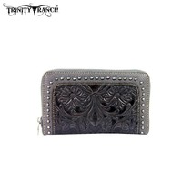 Montana West TR18-W003 Trinity Ranch Tooled Wallet
