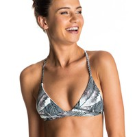 Strappy Love Reversible Fixed Tri Bikini Top 889351691064 | Roxy