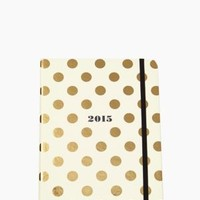 Set the Stage 17-month Medium Agenda - Gold Dots - kate spade new york