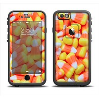 The Candy Corn Apple iPhone 6/6s LifeProof Fre Case Skin Set