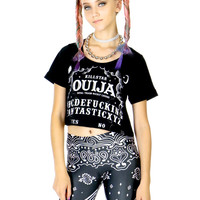 OUIJA CROP TOP