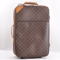Authentic Louis Vuitton Monogram Pegase 55 Travel Carry Bag M23294 LV 45538