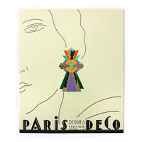 """Seymour Chwast """"Design & Style"""" Issue 3 (Paris Deco). From Seymour Chwast's personal archive."""