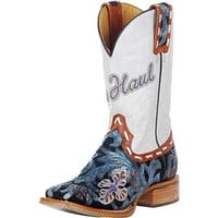 Tin Haul Hand-Tooled Whip It- 11 Top Cowgirl Boot