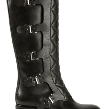 Marc By Marc Jacobs quilted paneled boots