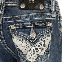 Girls-Miss Me Boot Jean - Girl's Jeans   Buckle