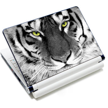 """Tiger Face  Anti-Slip Laptop Sticker Skin Decal Cover Protector For 11.6"""" -15.4"""" Sony Toshiba HP Dell Acer Thinkpad IBM"""