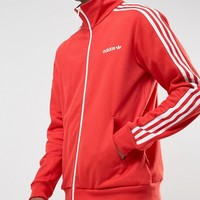 adidas Originals Beckenbauer Track Jacket In Red BR4334 at asos.com