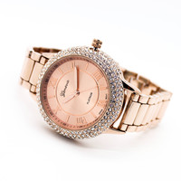 Bella crystal metal watch (3 colors)