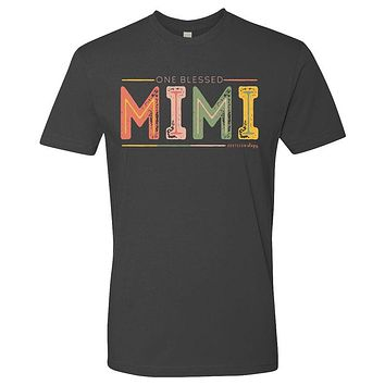 Southernology Statement Collection Mimi Color Block Canvas T-Shirt