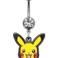 Pokémon Pikachu Navel Ring