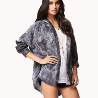 Oversized Mineral Wash Shirt