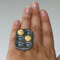 Kawaii Cute Japanese Ring  Only 2 Muffins in by fingerfooddelight