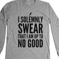 I Solemnly Swear That I Am Up To No Good Long Sleeve T-Shirt (Idb522037) |