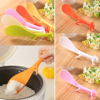 Sale Kitchen Non-sticky Shaped Squirrel Gadgets Cute Creative Rice Scoops
