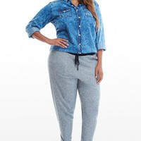 Plus Size Knit Jogger Pants | Fashion To Figure