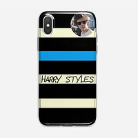 Harry Styles One Direction Cool Photo iPhone X Case