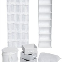 Ultra Closet Complete Set - White Dorm Products Dorm Organization Supplies Cool Items For College Students