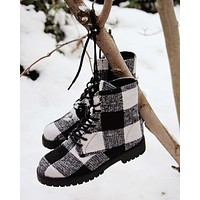 The Buffalo Plaid Boots
