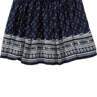 Old Navy Girls Patterned Poplin Circle Skirts